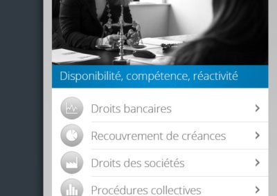 Application mobile Active Avocats