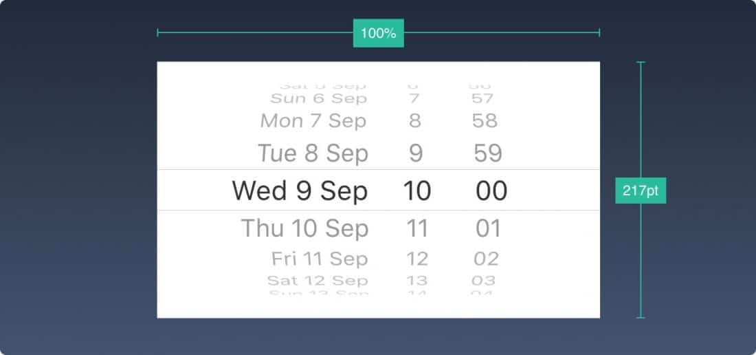 iOS 10 - Date and Time Picker - Http5000